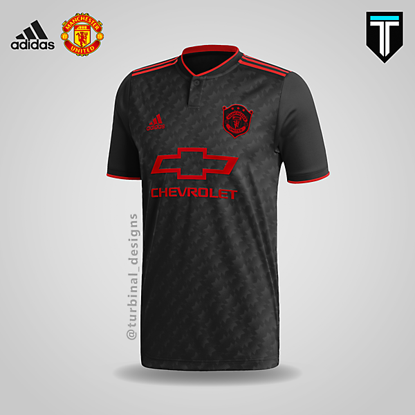 Manchester United x Adidas - Third Kit