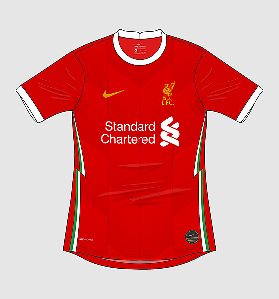 Nike Liverpool FC 2020-21 Home Kit (2019-20 inspired)