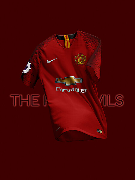NIKE Manchester United FC 2018-19 Home Jersey Concept