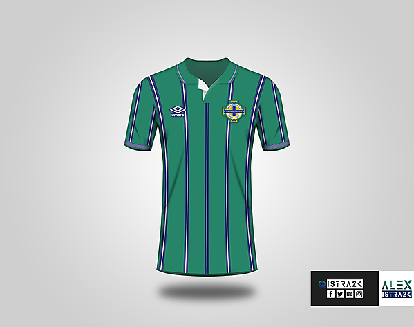 Northern Ireland X Umbro - Home