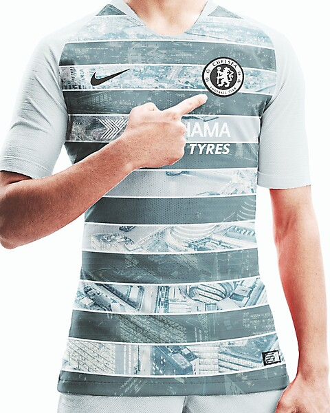 Official Chelsea FC Nike Vapor Knit Strike Third Kit 2018-19 Leaked by Footy Headlines