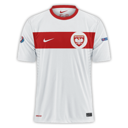 Poland - Euro 2016 Fantasy Home Shirt(with my crest)
