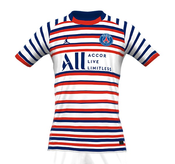 PSG 21-22 FANTASY AWAY KIT (FRONT)