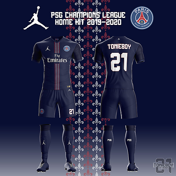 PSG Champions League Kit