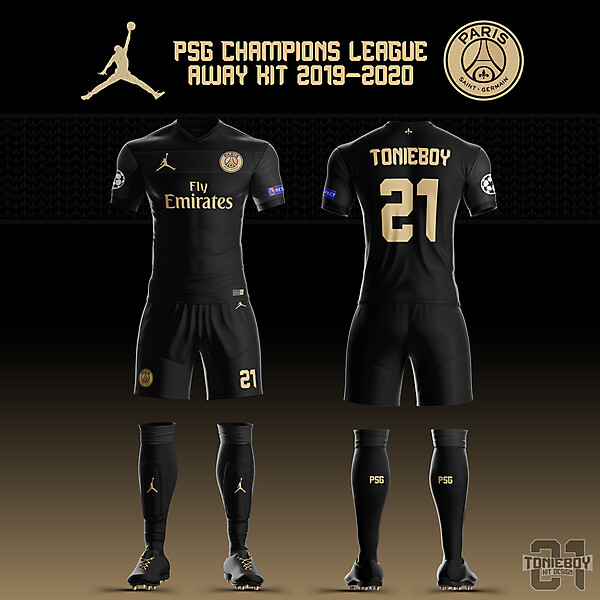 PSG UCL Away Kit 19-20