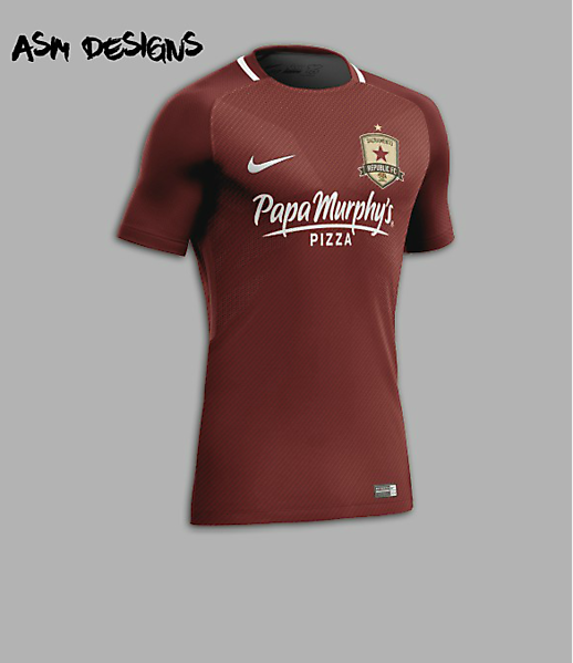 Sacramento Republic FC Nike 2018 Home Kit