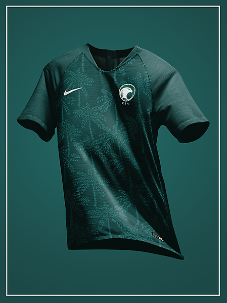 Saudi Arabia 2020 away kit