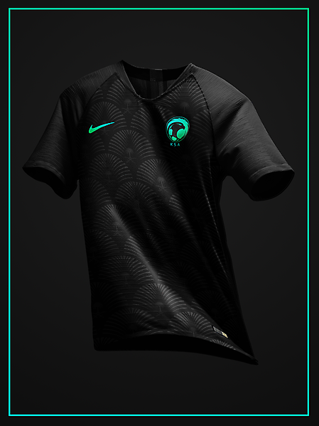 Saudi Arabia 2020 third kit