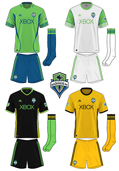 Seattle Sounders Adidas