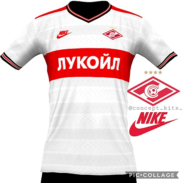 Spartak Moscow away