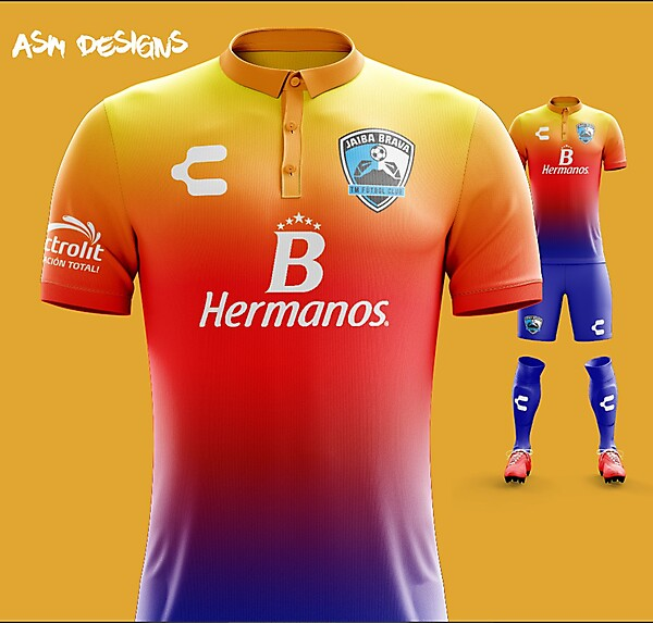 Tampico Madero F.C. Charly 2018 Alternate Kit