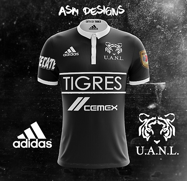 Tigres UANL 2018 Adidas Alternate Kit