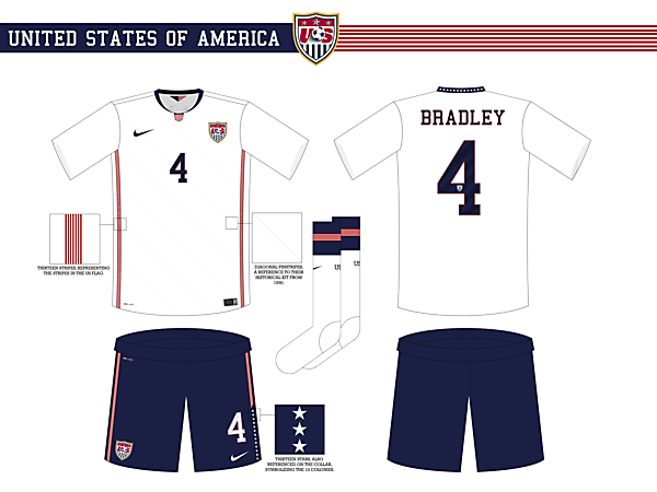 USA Home Kit - WC Competition