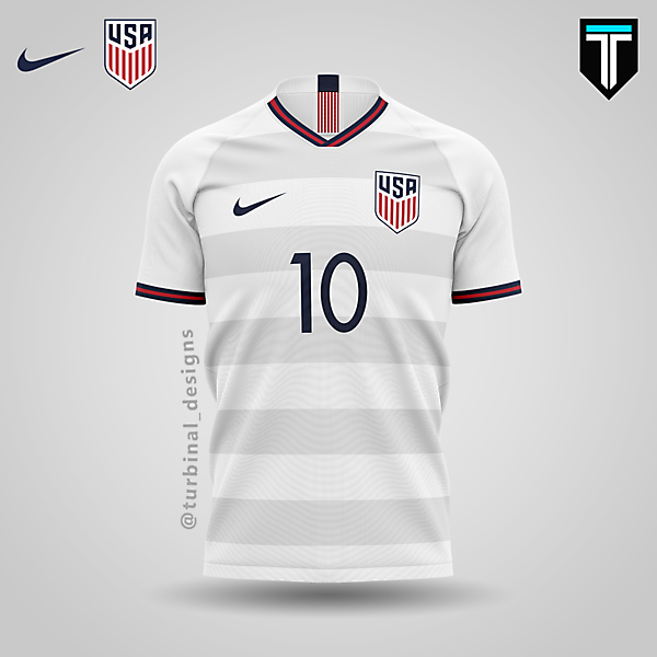 USA x Nike - Home Kit
