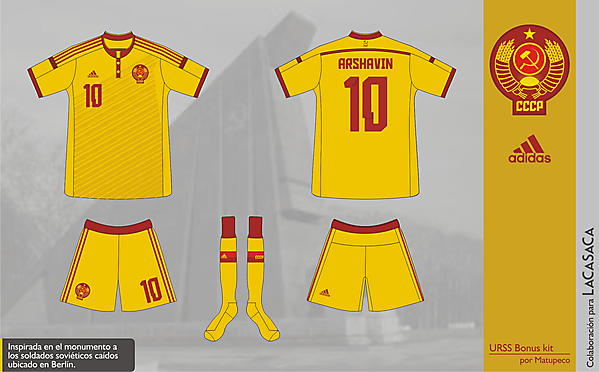 USSR World Cup 2014 Bonus Kit - Matupeco&LaCasaca