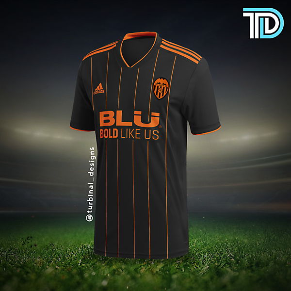 Valencia CF Away Kit Concept