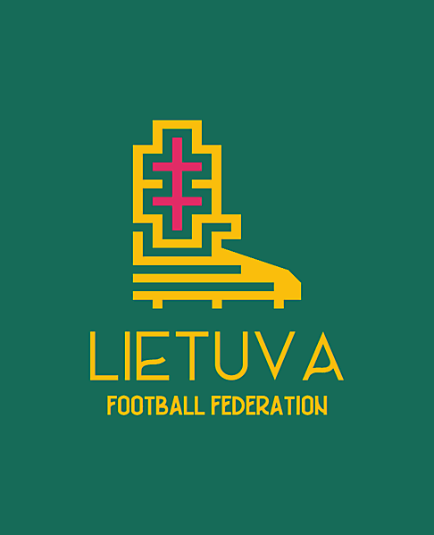 Lietuva football federation logo.