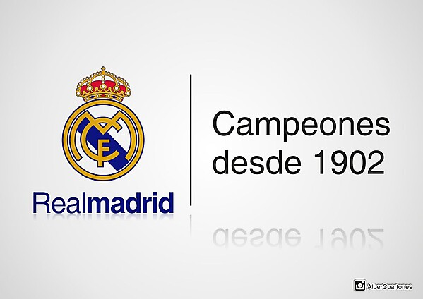 Real Madrid 112th anniversary design