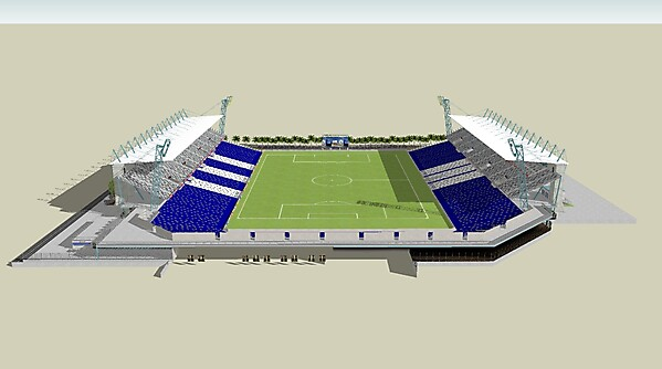 New Goodison Park Angle 3