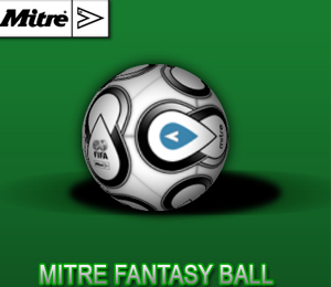 MITRE fantasy Football ball
