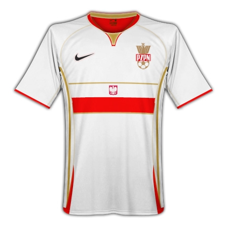 Poland 08/09 Nike Away Kit