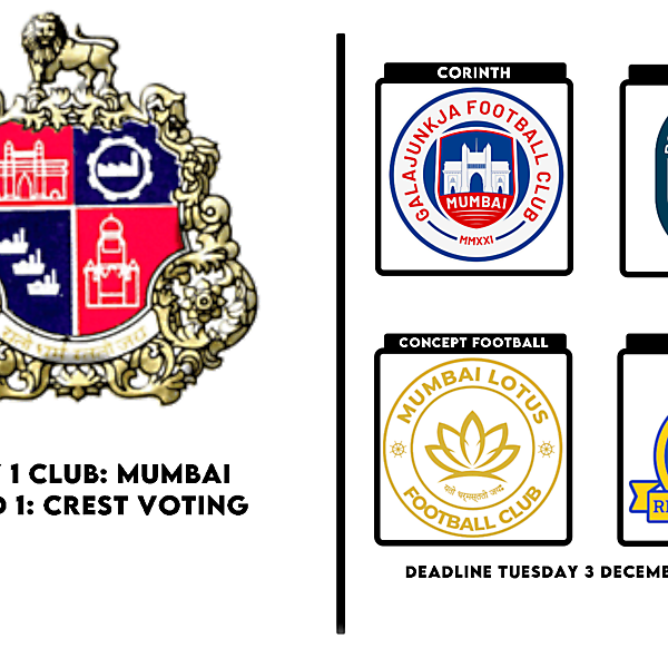 1 CITY 1 CLUB - MUMBAI - CREST VOTING