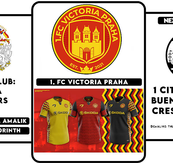 1 CITY 1 CLUB - WINNERS & NEXT ROUND - BUENOS AIRES- CREST DESIGN
