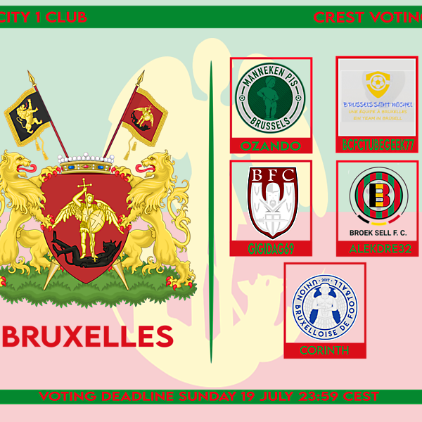 1 CITY 1 CLUB - BRUXELLES - VOTING