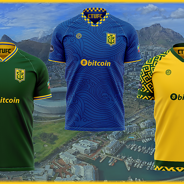 Cape Town Union Football Club Jerseys