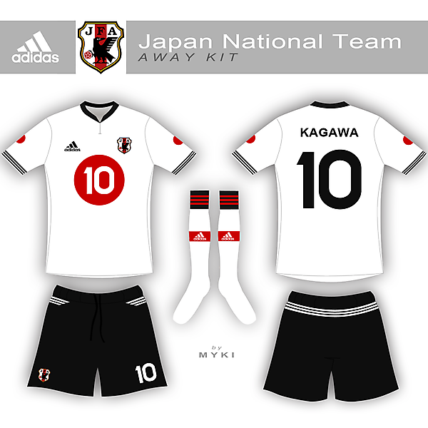 Japanese Away Kit