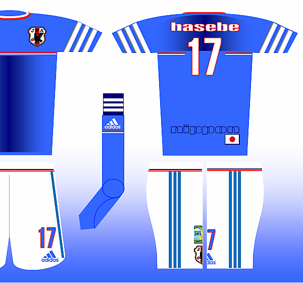 Adidas Fantasy Kit - Japan Home