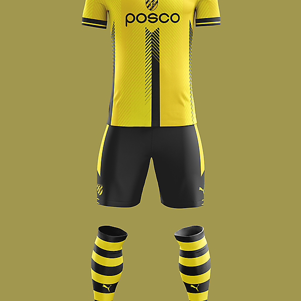 Jeonnam Dragons - Home kit