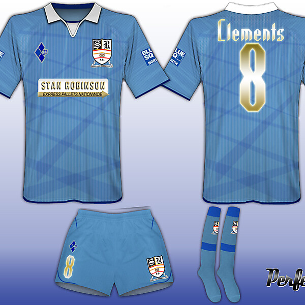 Stafford Rangers Special Blue #Kit 1