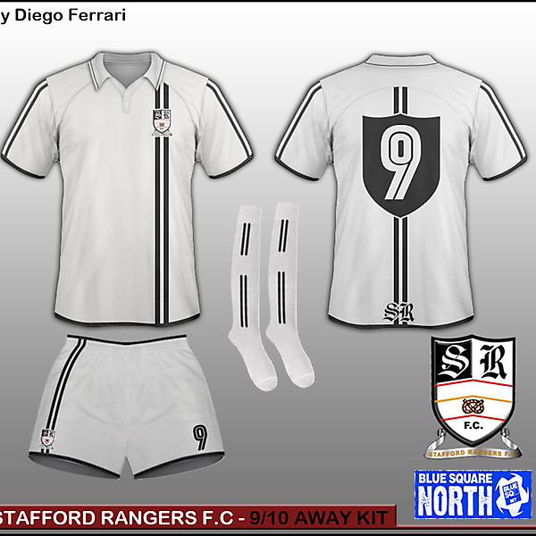 Stafford Rangers - 9/10 Away kit