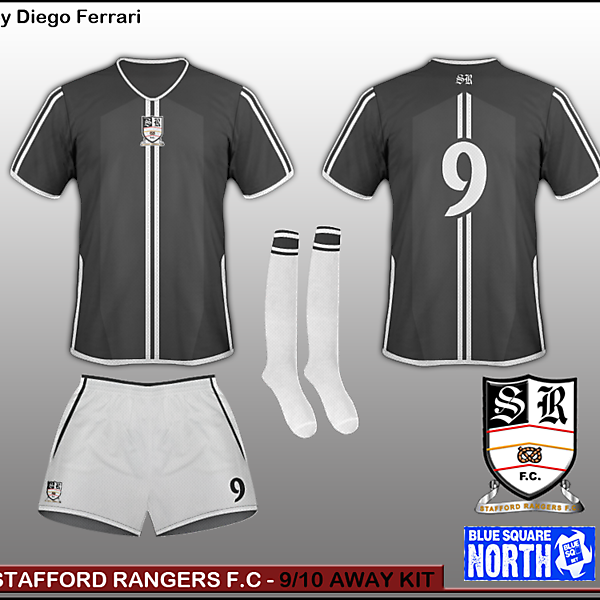 Stafford Rangers - 9/10 Home kit