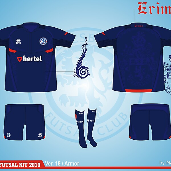 Middlesbrough Futsal Club Kit - Version .18
