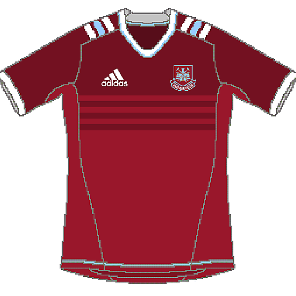 West Ham Adidas Home