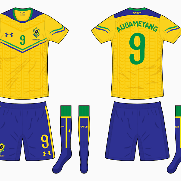 Gabon Home Kit - Under Armour