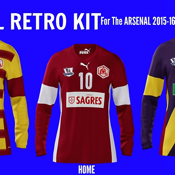 Arsenal Retro Shirt (By Puma) For the Competition.