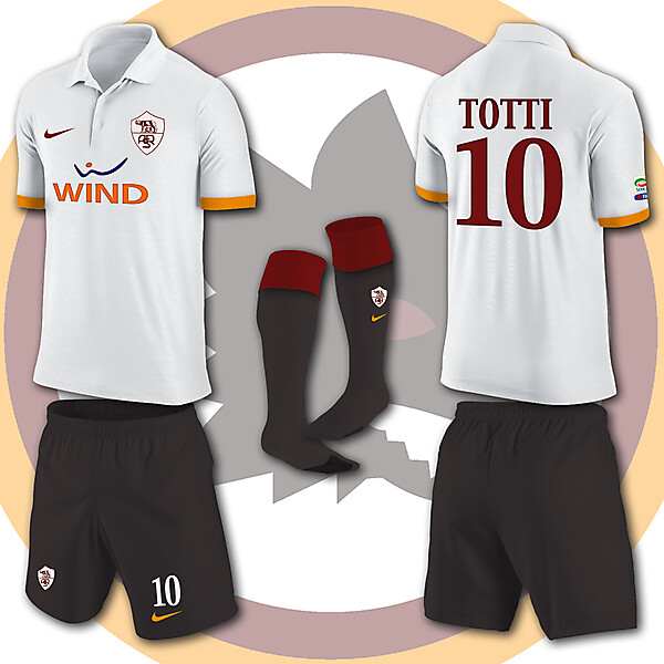 AS ROMA NIKE KITS 2013-2014 Wind)