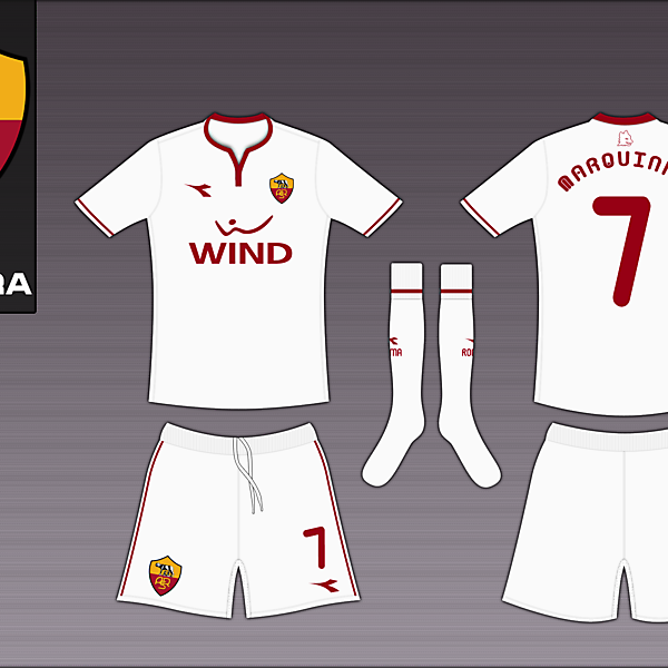 AS Roma Diadora Away
