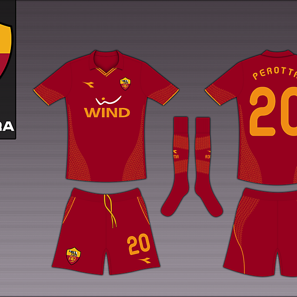 AS Roma Diadora Home