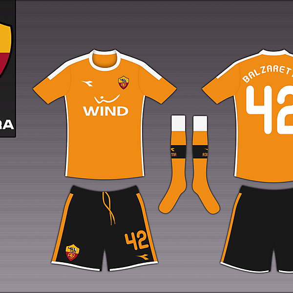 AS Roma Diadora Third
