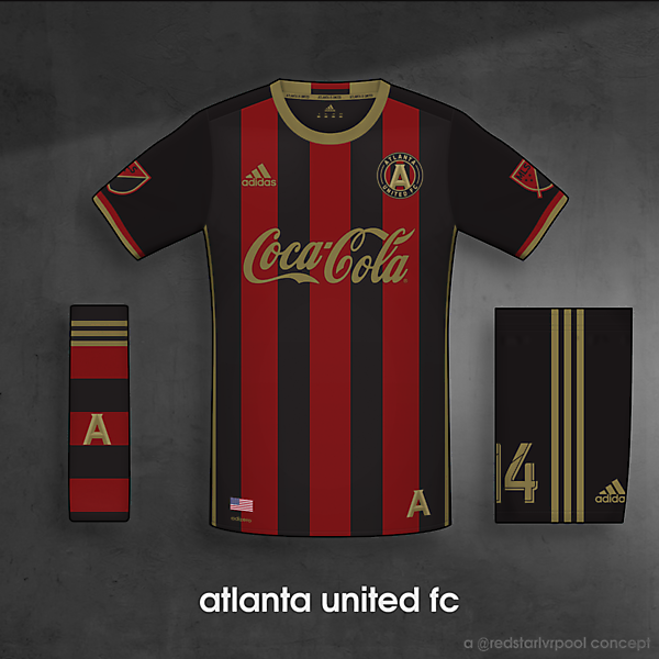 Atlanta United FC - Home Uniform
