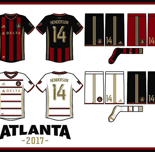 Atlanta United FC 2017 Kit Concepts