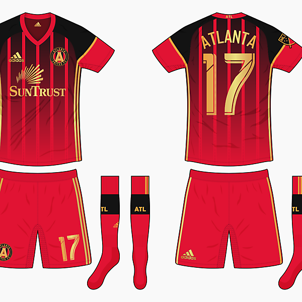 Atlanta United Home Kit