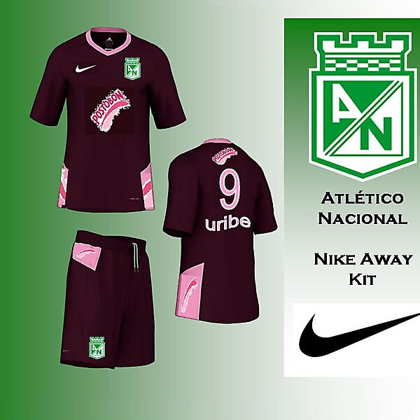 Atletico Nacional - Nike Away Kit