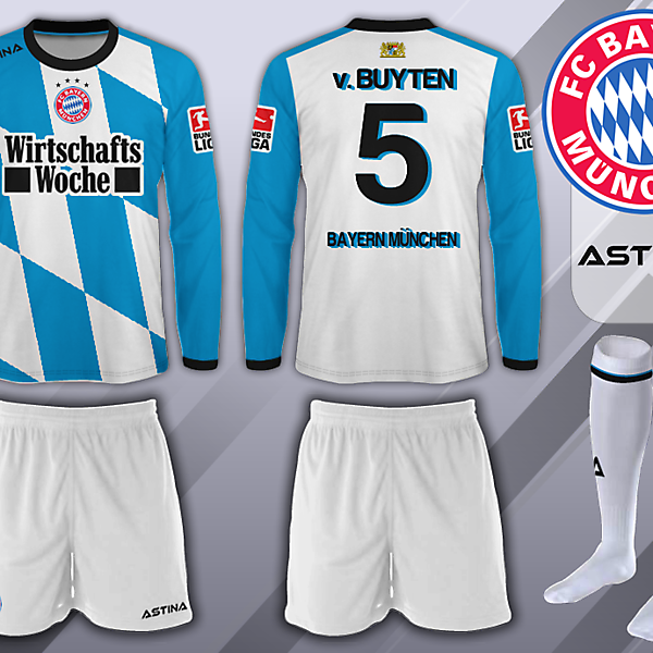 Bayern Munich - Astina - Third Kit