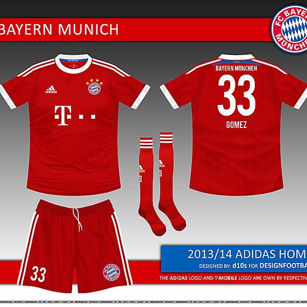 FC Bayern Munich Kit Competition