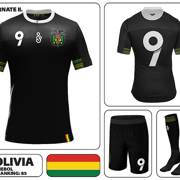 Bolivia Away Kit II.